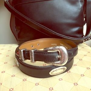 Accessories - Vintage Texas leather Belt